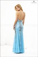 F7113-tiffany blue evening dress