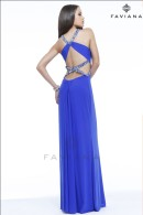 F7348 low back prom dress