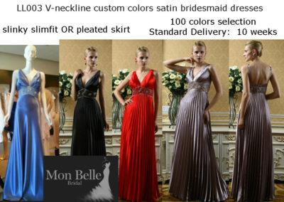 ll003-v-neckline-custom-colors-satin-bridesmaid-dresses-slimfit-or-pleated-skirts