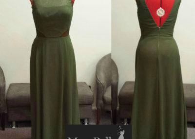 LL004 custom colors modest bridesmaid dresses