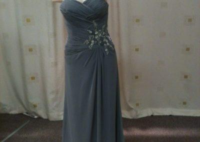 LL019 sweetheart neckline custom bridesmaid dresses