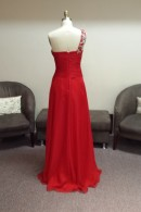 O2109 evening dress back
