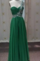 O2318 1shoulder ball gown