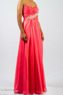O2319 1-shoulder ball gown