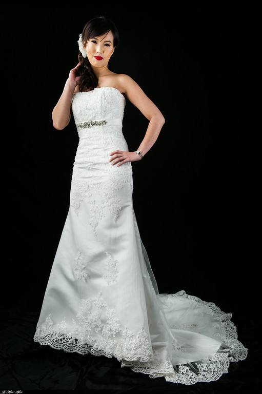 Strapless Lace Mermaid Wedding Gown TL0200