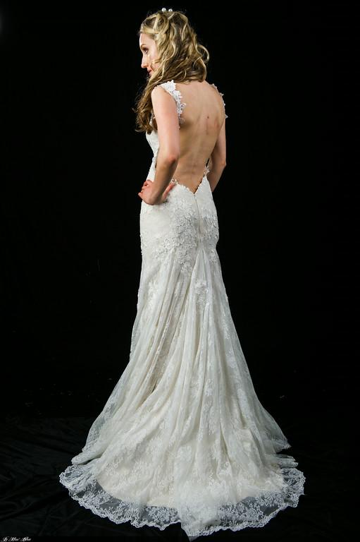 Vintage lace sheath wedding dress l201503b mon belle bridal for Vintage wedding dresses perth