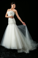 S1358 Fit & Flare Wedding Dress
