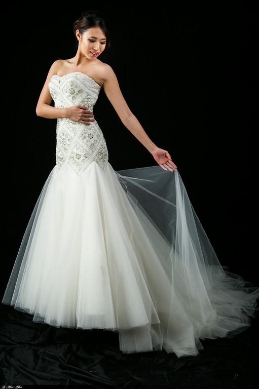 S1358 Fit & Flare Wedding Dress