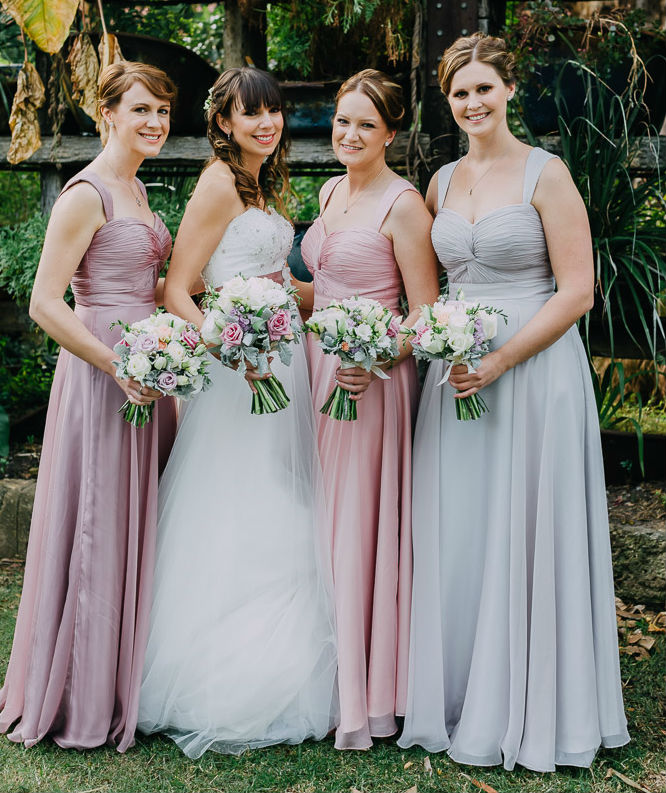 custom colors bridesmaid dresses