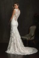 9068 illusion back wedding dress