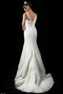 B1109 Vback Lace wedding dress