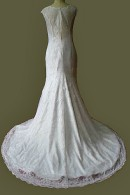 C1508 illusion lowback wedding gown