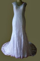 C1506 lace wedding dress