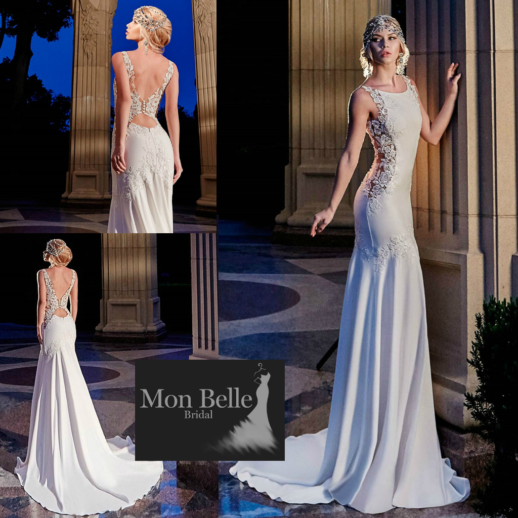 Wedding dresses perth mon belle bridal id1707 gatsby wedding dress junglespirit Gallery
