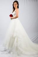 K1416 Organza Wedding Dress