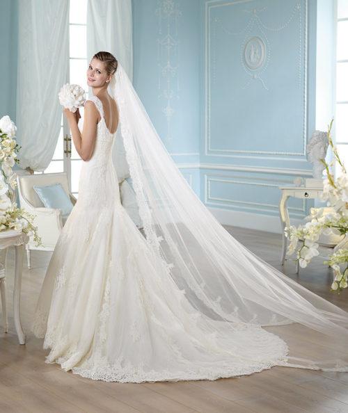 San Patrick Cobalto wedding dress