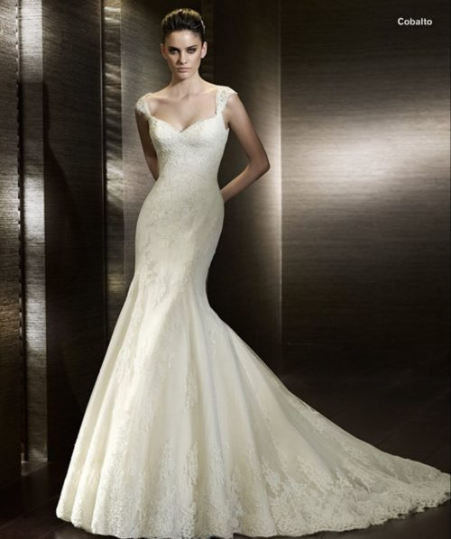 San Patrick Cobalto wedding dress