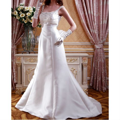 KL0170 satin wedding dress