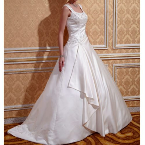 KL0198 satin wedding dress