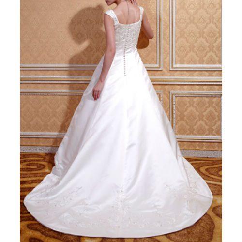 KL0198 wedding dress with train