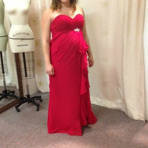 O2338 maternity evening dress