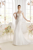 Avenue Diagonal PADAN chiffon wedding dress