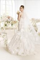 Avenue Diagonal PARNELA mermaid wedding dress with court train