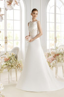 Avenue Diagonal PAYTAH satin wedding dress
