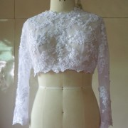 Long Sleeve Bridal Jacket LS003