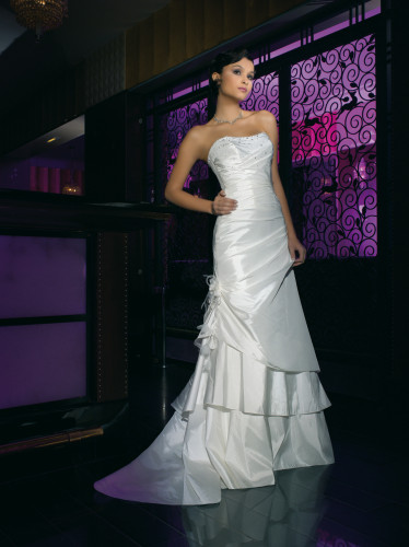 JFY105-17 Taffeta Wedding Dresses