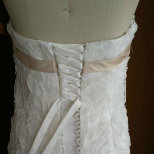 Lace up back dresses