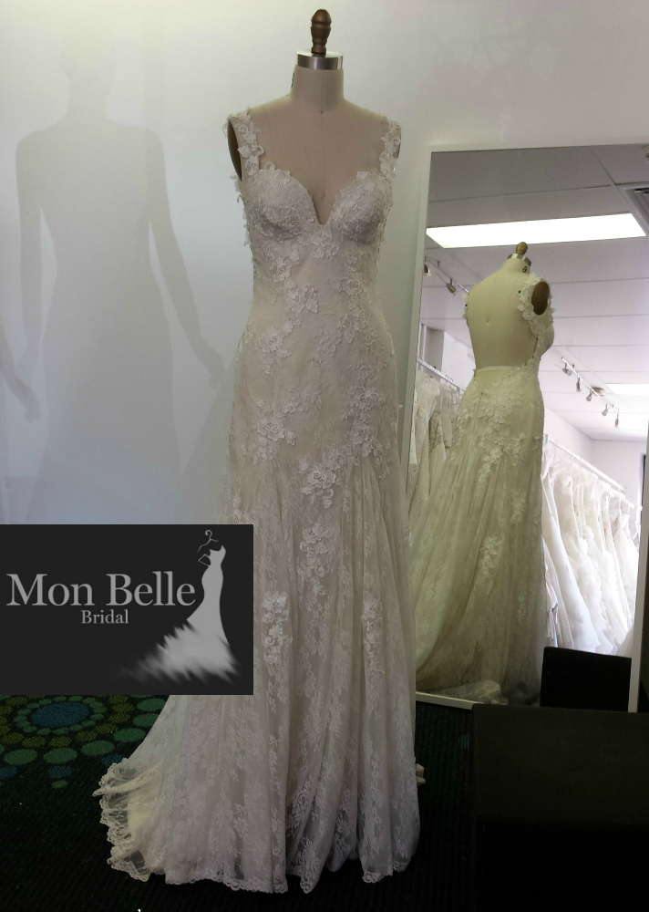 Sexy Low Back Lace Wedding Dress Ll1503