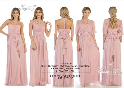 T4133 multiway bridesmaid dresses
