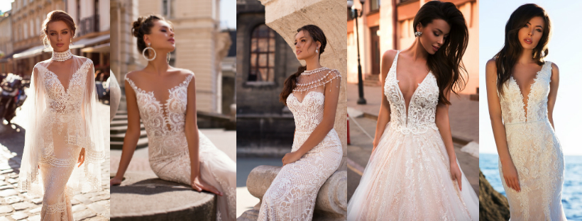 Unique wedding dresses from Europe – dare to be different