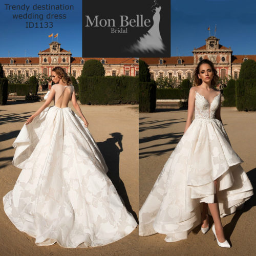 MONIQUE trendy destination wedding dress ID1133