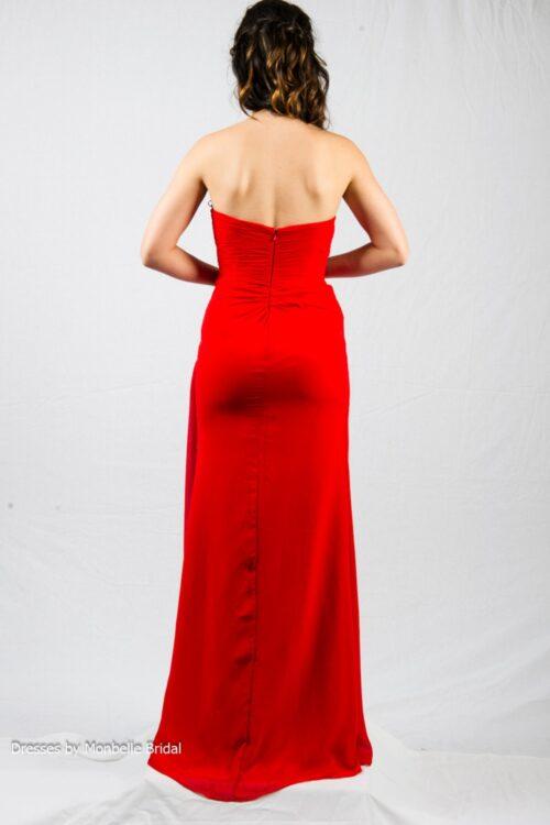 O2338 bridesmaids evening dress