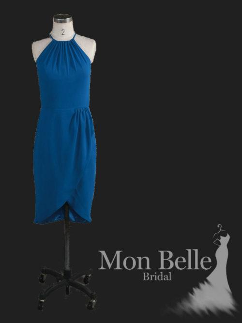 Katrina Deep Sea Blue bridesmaid dresses LL18846