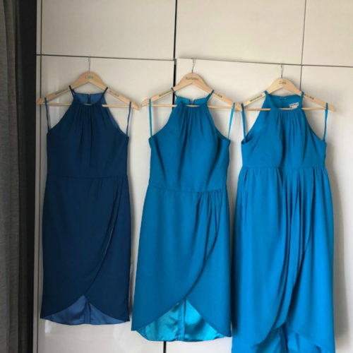 Katrina custom design bridesmaid dresses