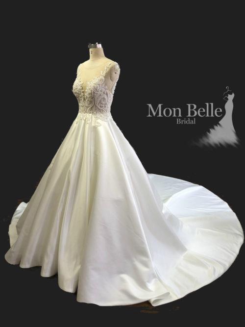 KRYSTYNA custom design trendy princess wedding dress