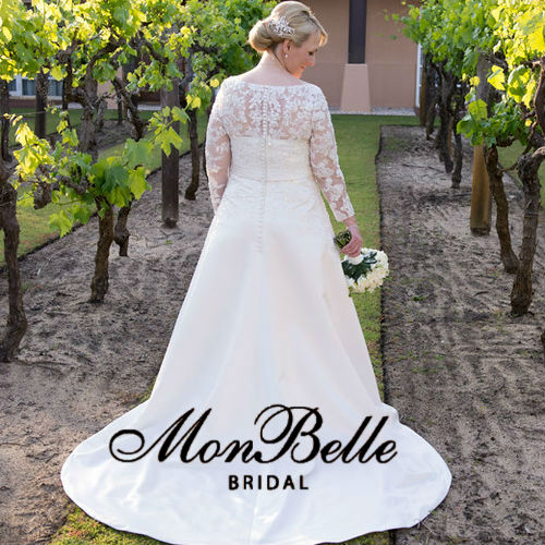JANETTE Custom design long sleeves wedding dresses