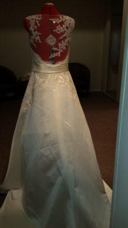 PASHA illusion back wedding dress