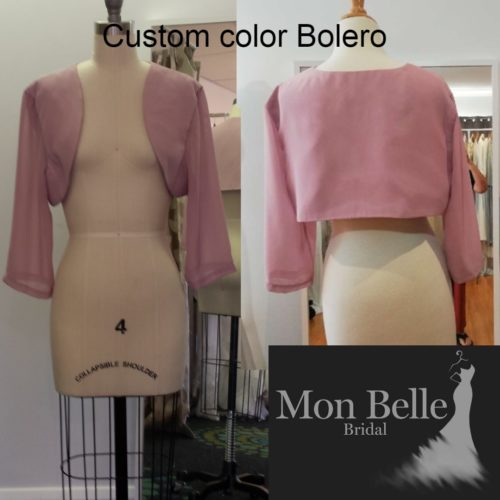 Custom Color Bolero