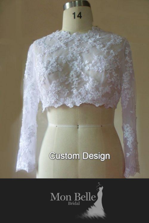 Custom long sleeves Bolero B05