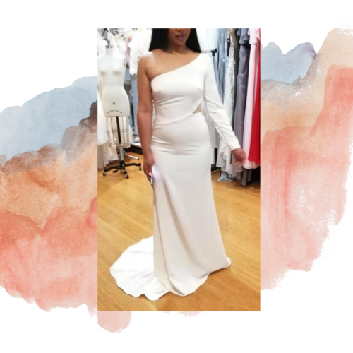 Phoebe custom wedding dress