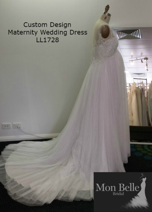 DEE custom design maternity wedding dress LL17028