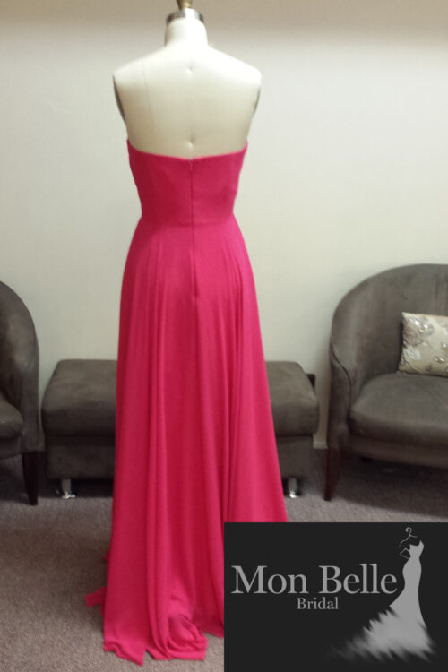 LL006 strapless bridesmaid dresses