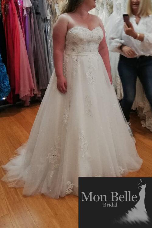 LAKEISHA sweetheart lace wedding dress LL20882