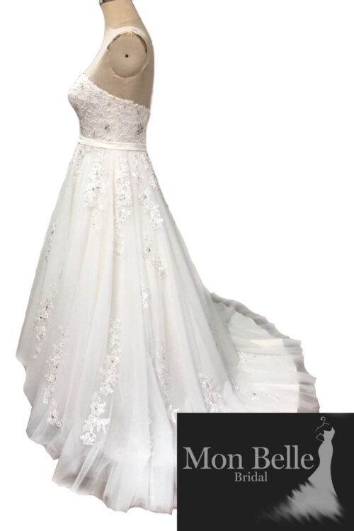 LAKEISHA wedding dress with train LL20882