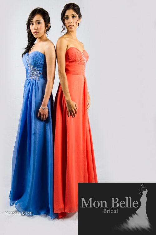 O2077 custom colour bridesmaid evening dresses